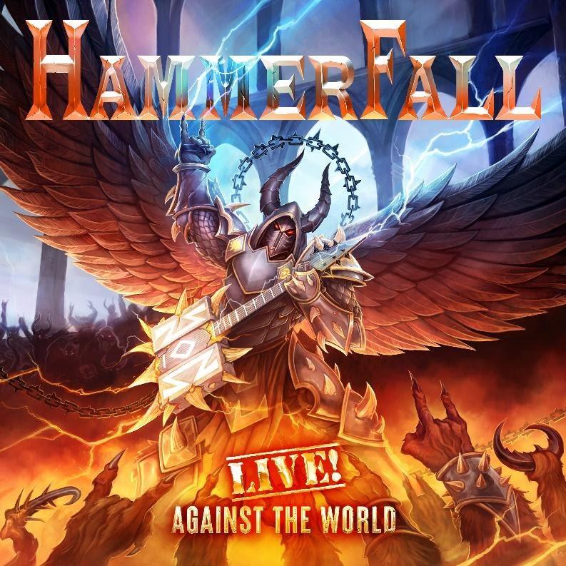hammerfall cover album live-against-the-world